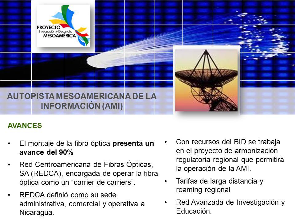 AUTOPISTA MESOAMERICANA DE LA INFORMACIÓN (AMI)