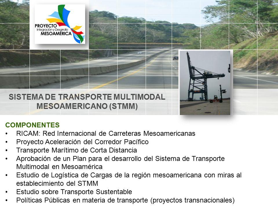 SISTEMA DE TRANSPORTE MULTIMODAL MESOAMERICANO (STMM)