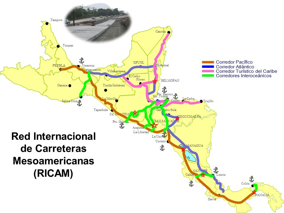 Red Internacional de Carreteras Mesoamericanas (RICAM)