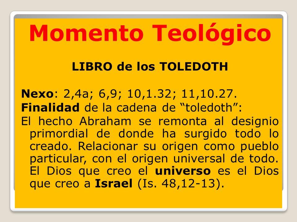 Momento Teológico Momento Teológico LIBRO de los TOLEDOTH