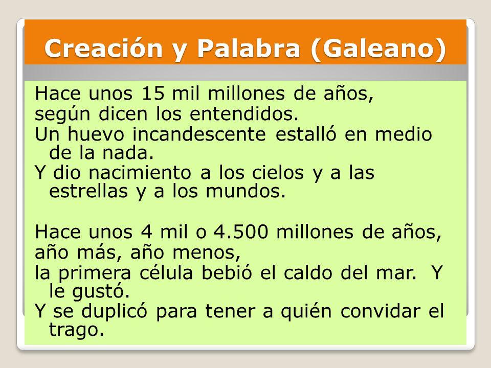 Creación y Palabra (Galeano)