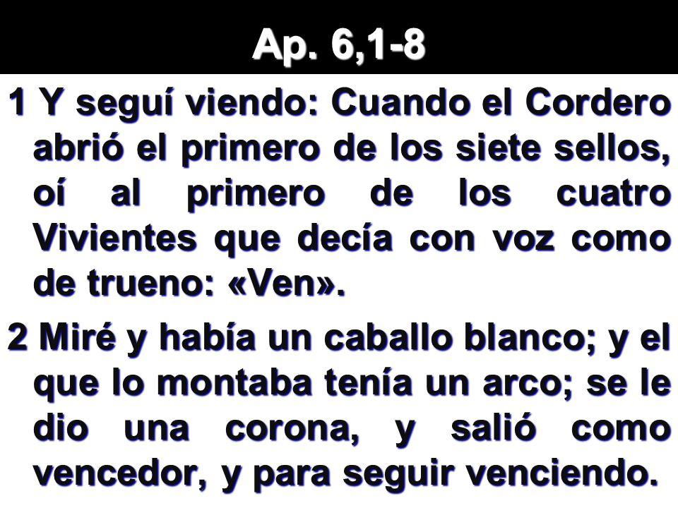 Ap. 6,1-8