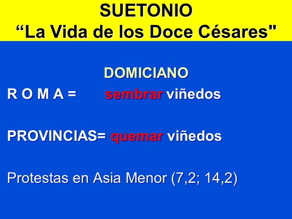 SUETONIO La Vida de los Doce Césares