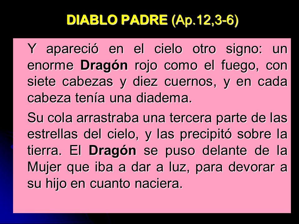 DIABLO PADRE (Ap.12,3-6)