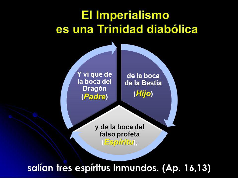 El Imperialismo es una Trinidad diabólica