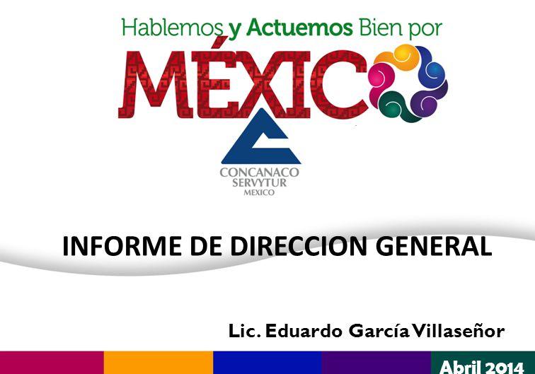 INFORME DE DIRECCION GENERAL