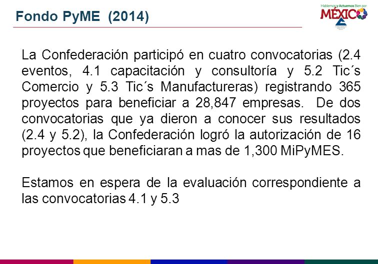 Fondo PyME (2014)