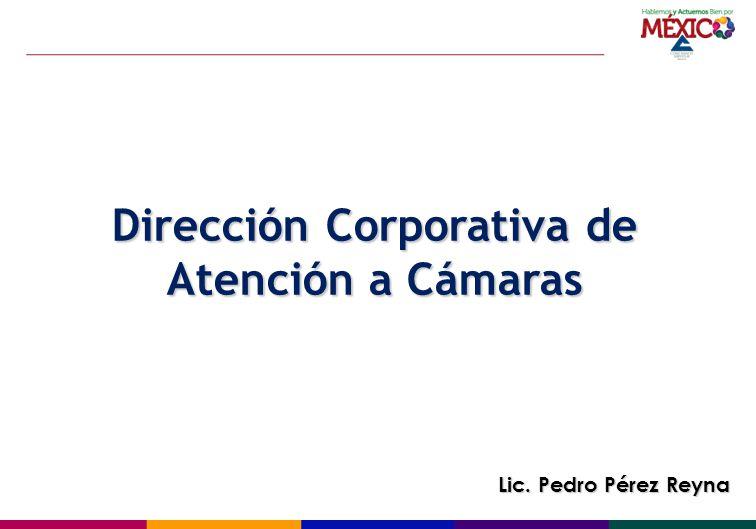 Dirección Corporativa de Atención a Cámaras