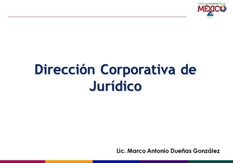 Dirección Corporativa de Jurídico
