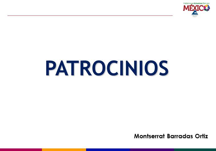 PATROCINIOS Montserrat Barradas Ortiz