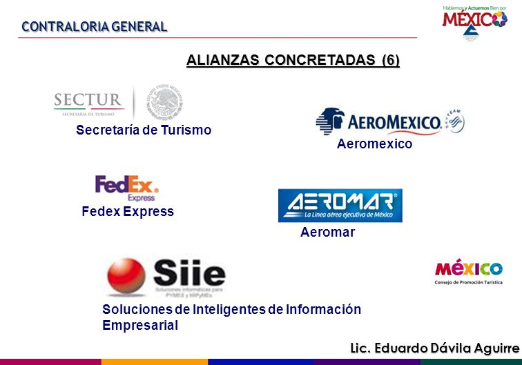 ALIANZAS CONCRETADAS (6)