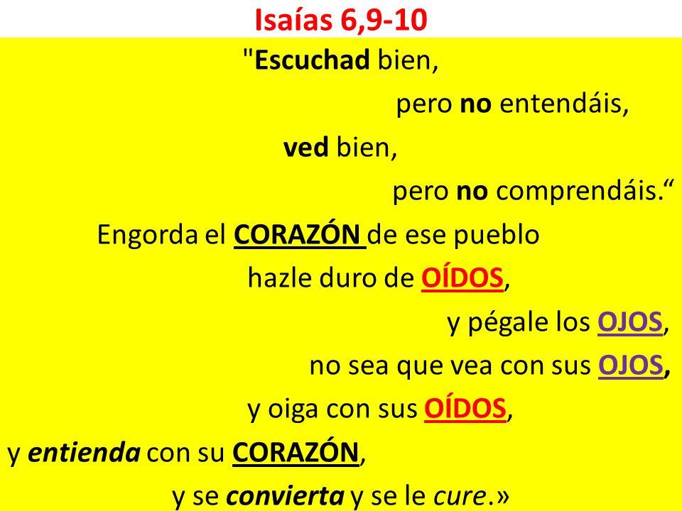 Isaías 6,9-10