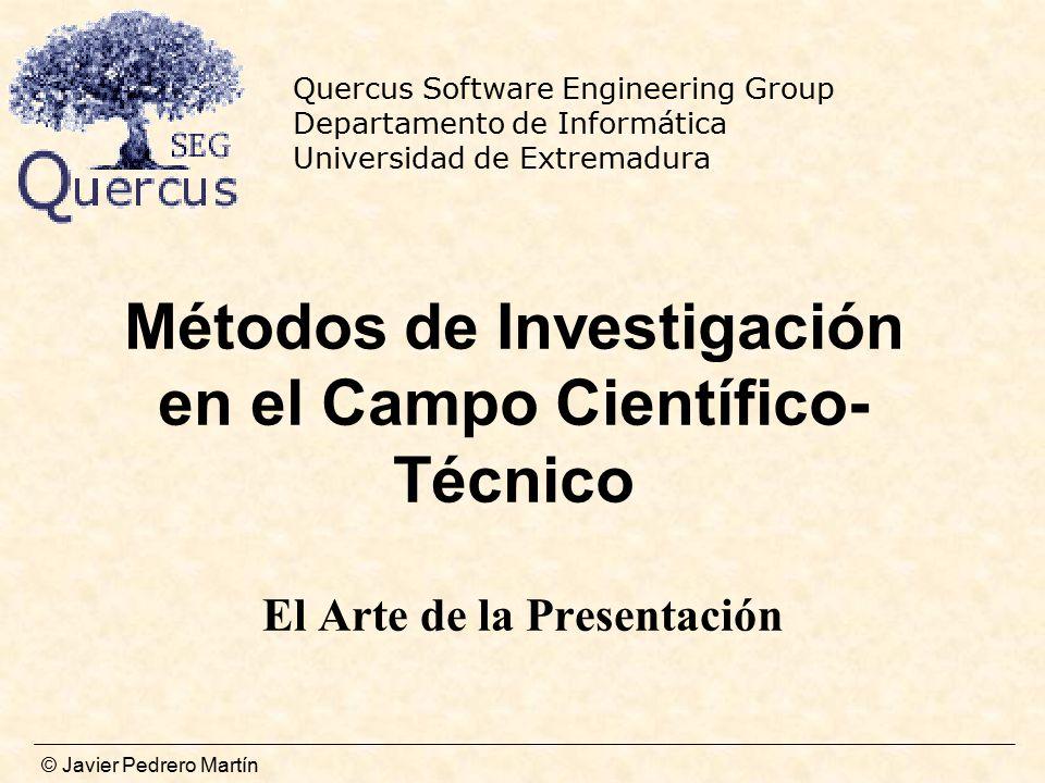 Métodos de Investigación en el Campo Científico-Técnico