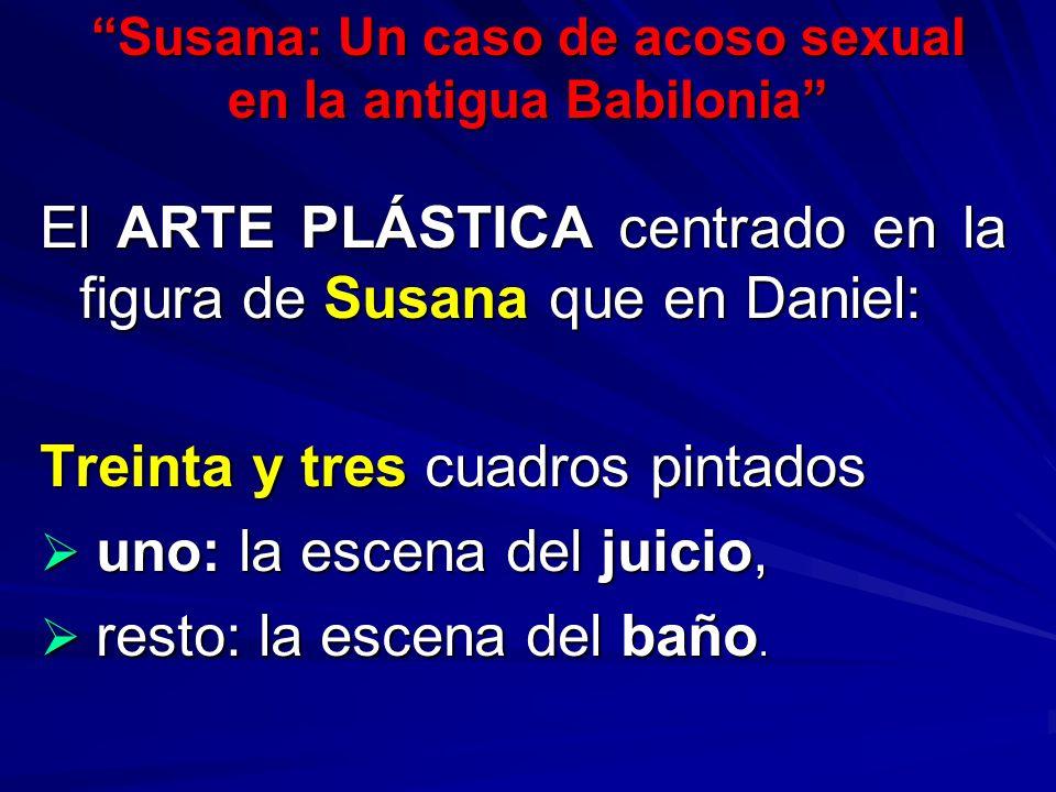 Susana: Un caso de acoso sexual en la antigua Babilonia