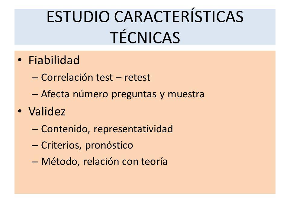 ESTUDIO CARACTERÍSTICAS TÉCNICAS