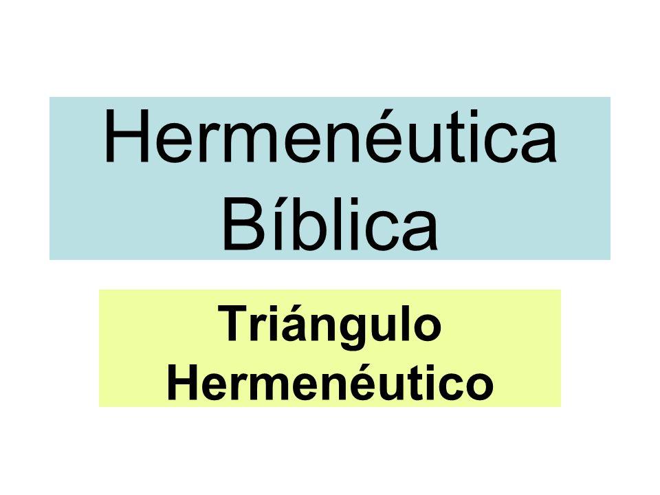 Triángulo Hermenéutico