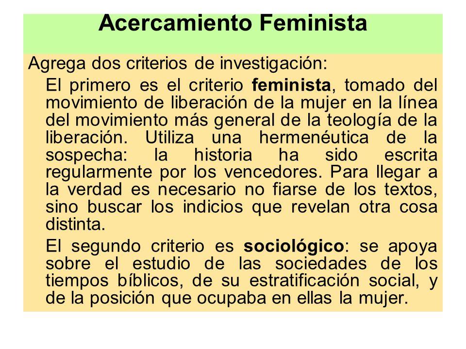 Acercamiento Feminista