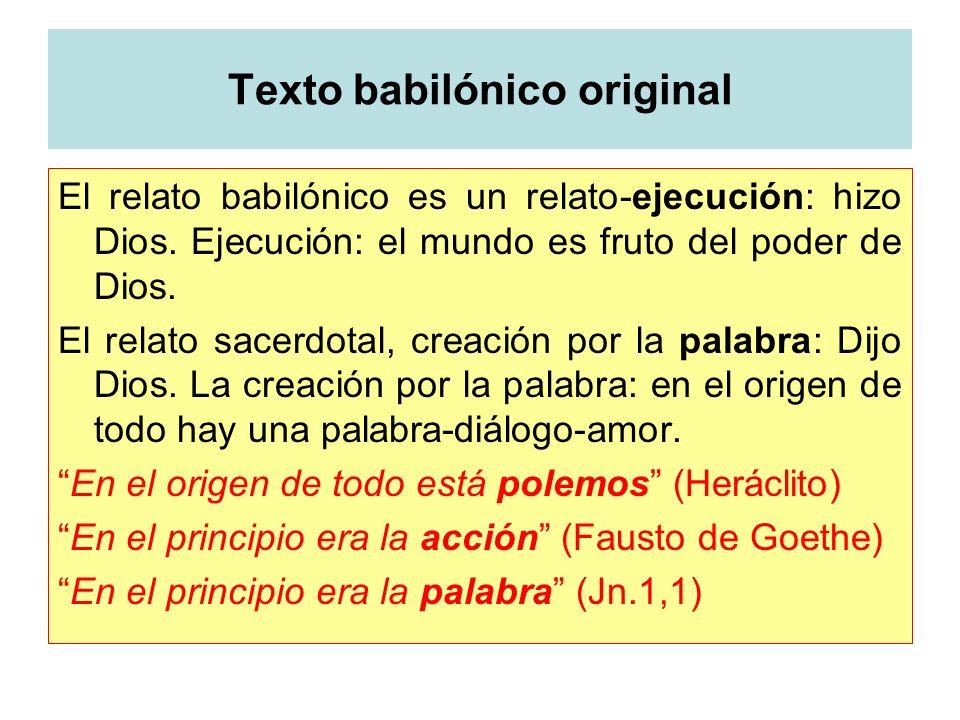 Texto babilónico original