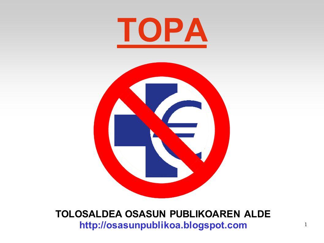 TOLOSALDEA OSASUN PUBLIKOAREN ALDE