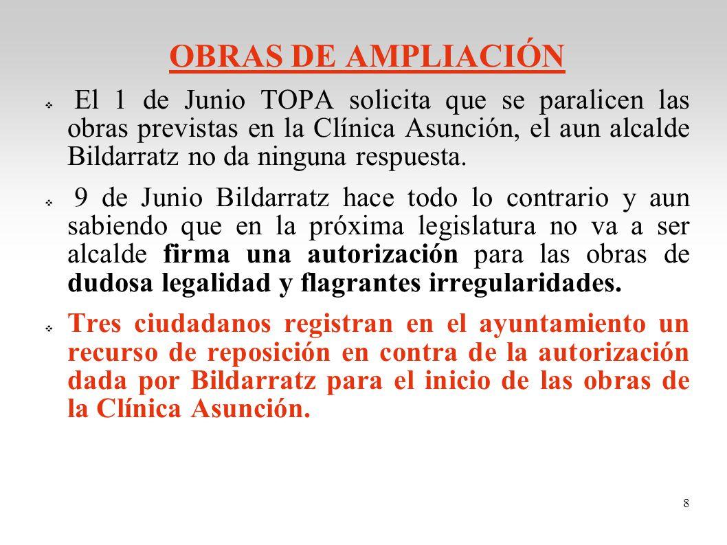 OBRAS DE AMPLIACIÓN