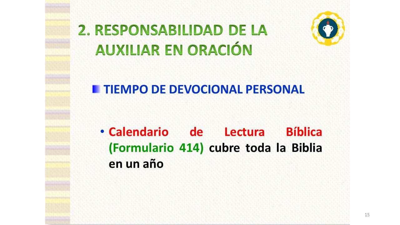 1. LA ORACIÓN Y EL TESTIMONIO PERSONAL