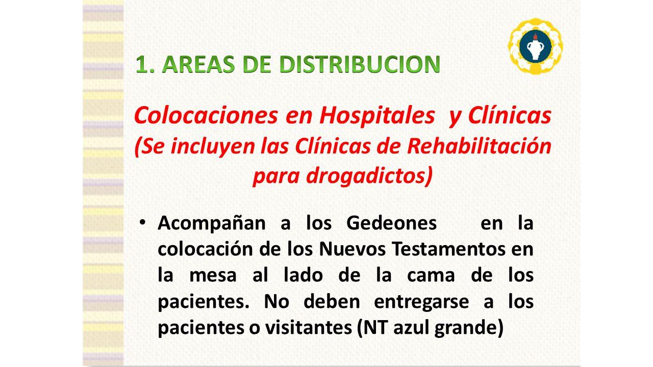 Colocaciones en Hospitales y Clínicas