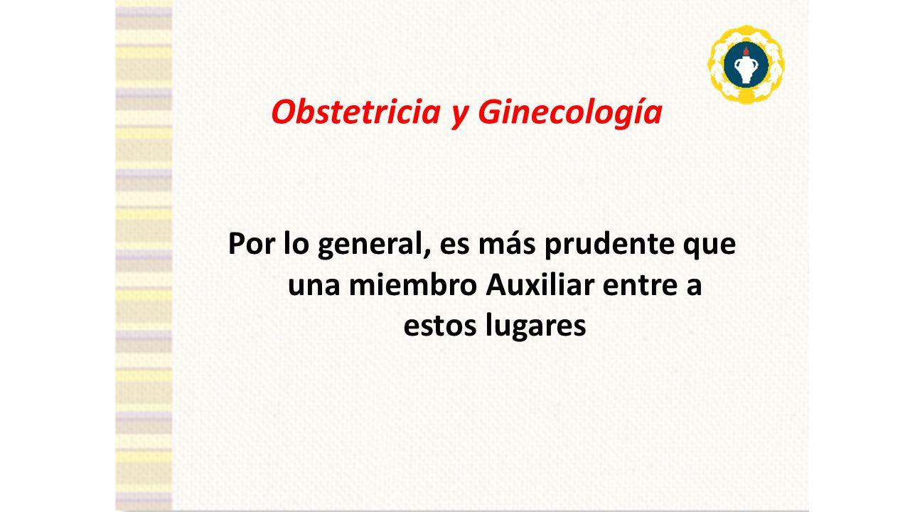 Obstetricia y Ginecología