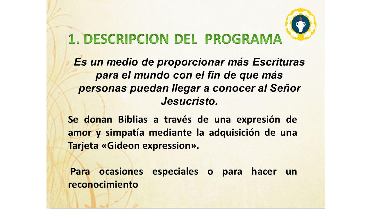 1. DESCRIPCION DEL PROGRAMA