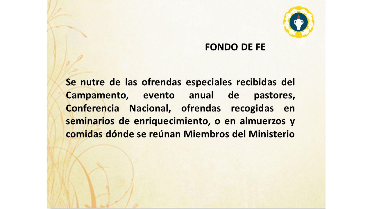 FONDO DE FE