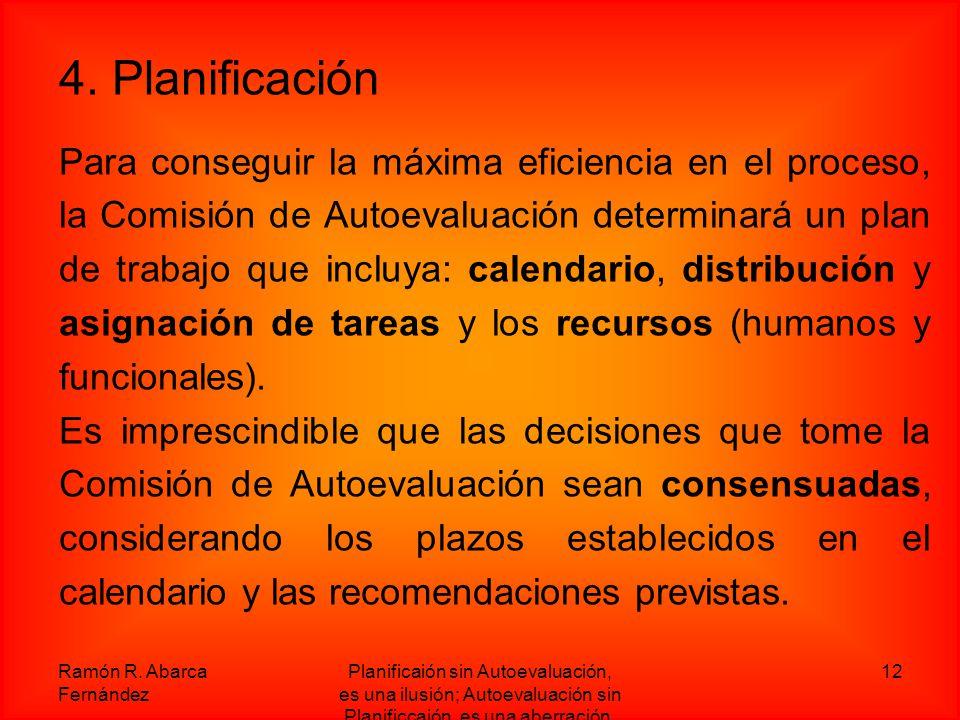 4. Planificación