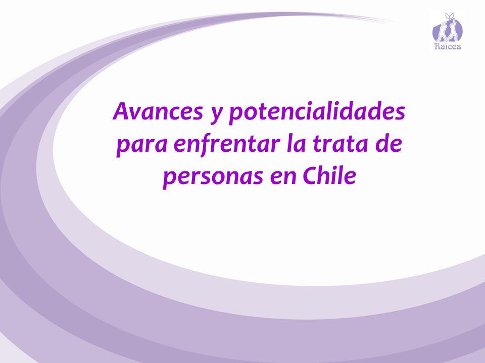 Avances y potencialidades para enfrentar la trata de personas en Chile