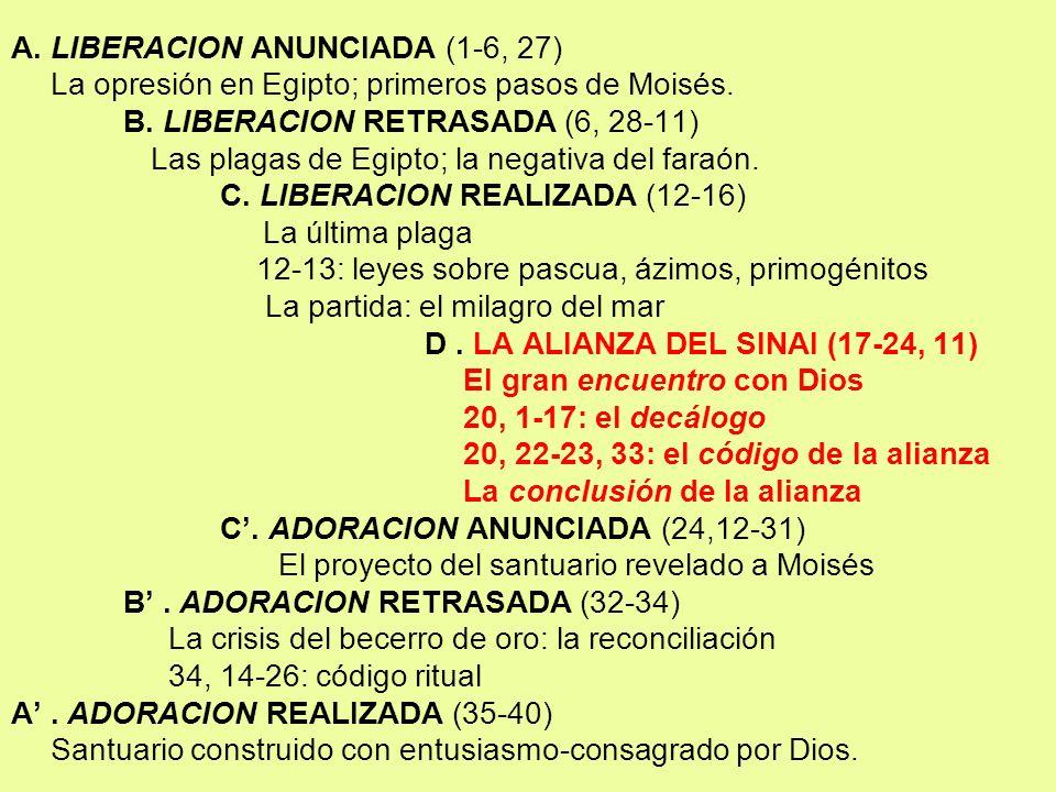 A. LIBERACION ANUNCIADA (1-6, 27)