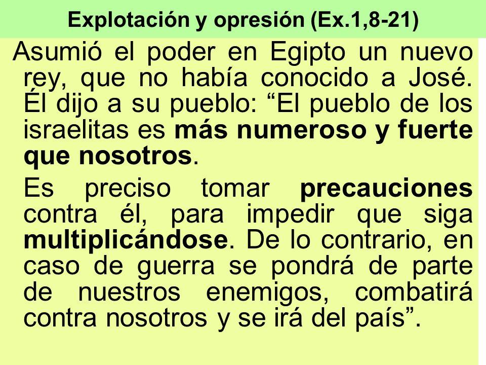 Explotación y opresión (Ex.1,8-21)