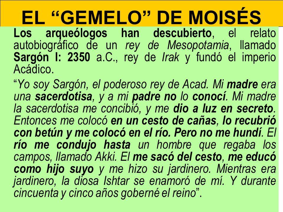 EL GEMELO DE MOISÉS
