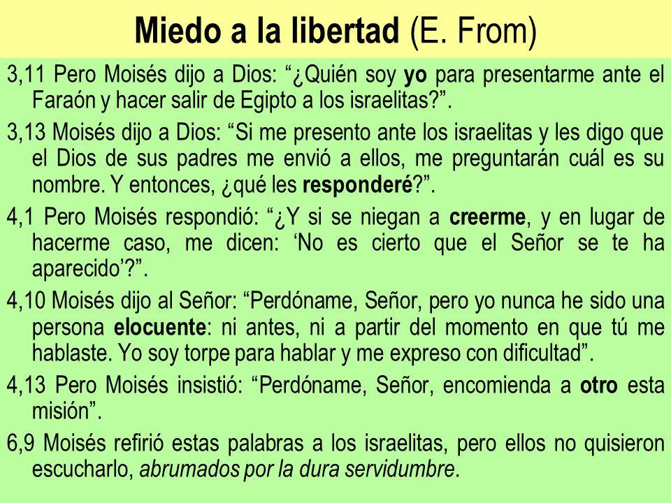 Miedo a la libertad (E. From)