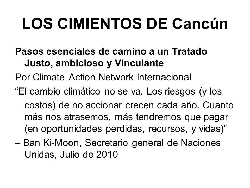LOS CIMIENTOS DE Cancún