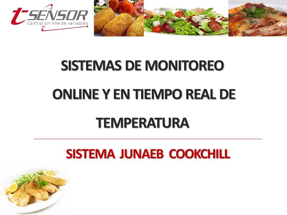 SISTEMAS DE MONITOREO ONLINE Y EN TIEMPO REAL DE TEMPERATURA