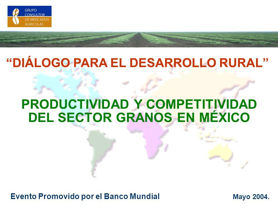 PRODUCTIVIDAD Y COMPETITIVIDAD DEL SECTOR GRANOS EN MÉXICO