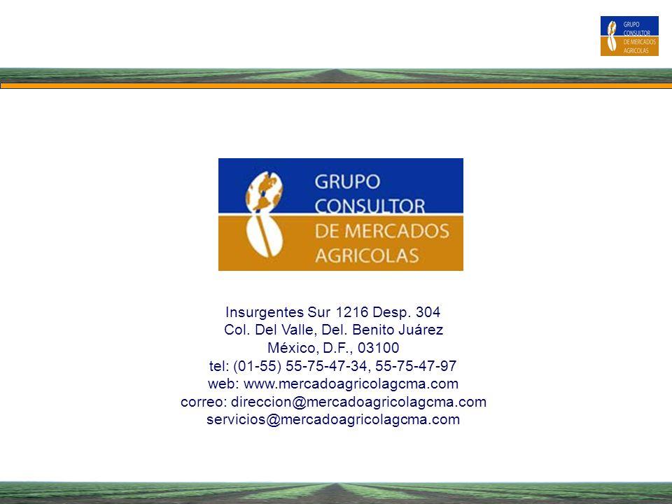 Col. Del Valle, Del. Benito Juárez México, D.F., 03100