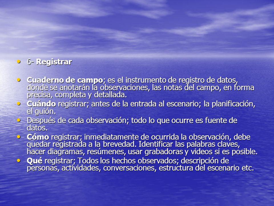 6- Registrar