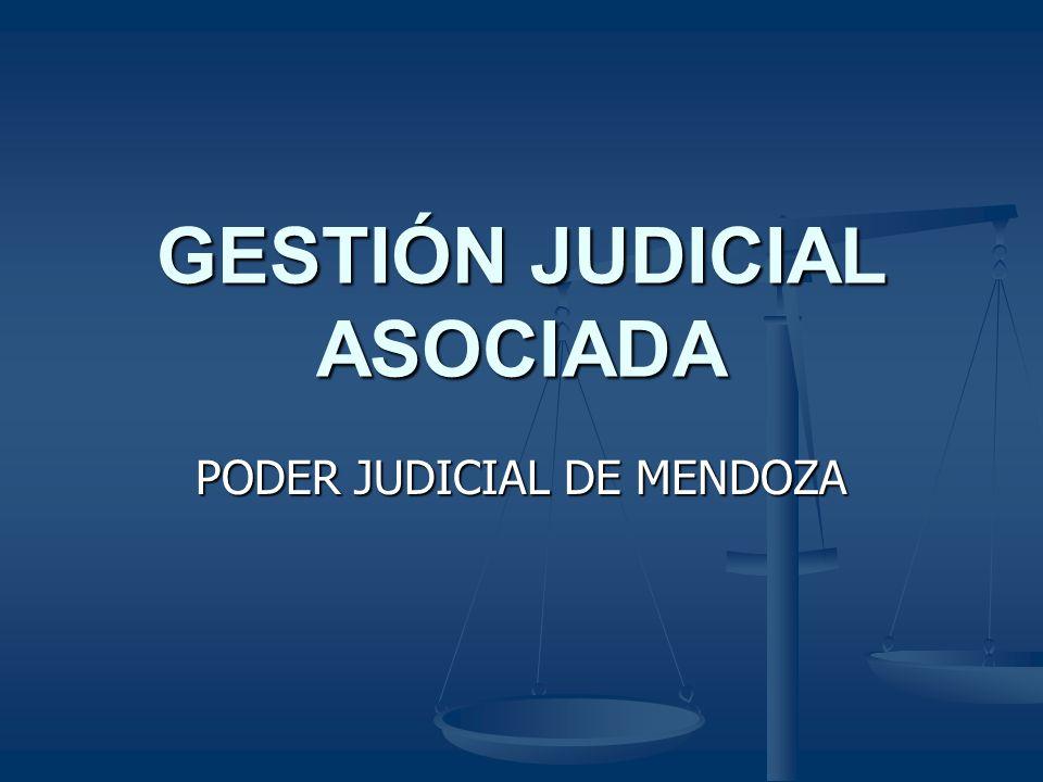GESTIÓN JUDICIAL ASOCIADA