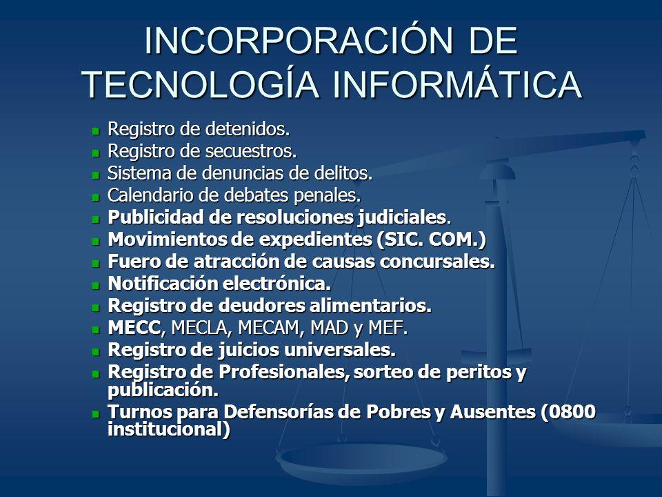INCORPORACIÓN DE TECNOLOGÍA INFORMÁTICA