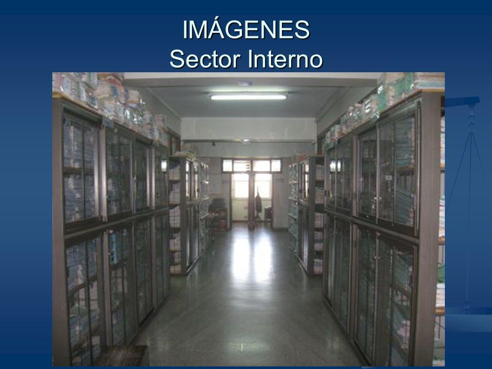 IMÁGENES Sector Interno