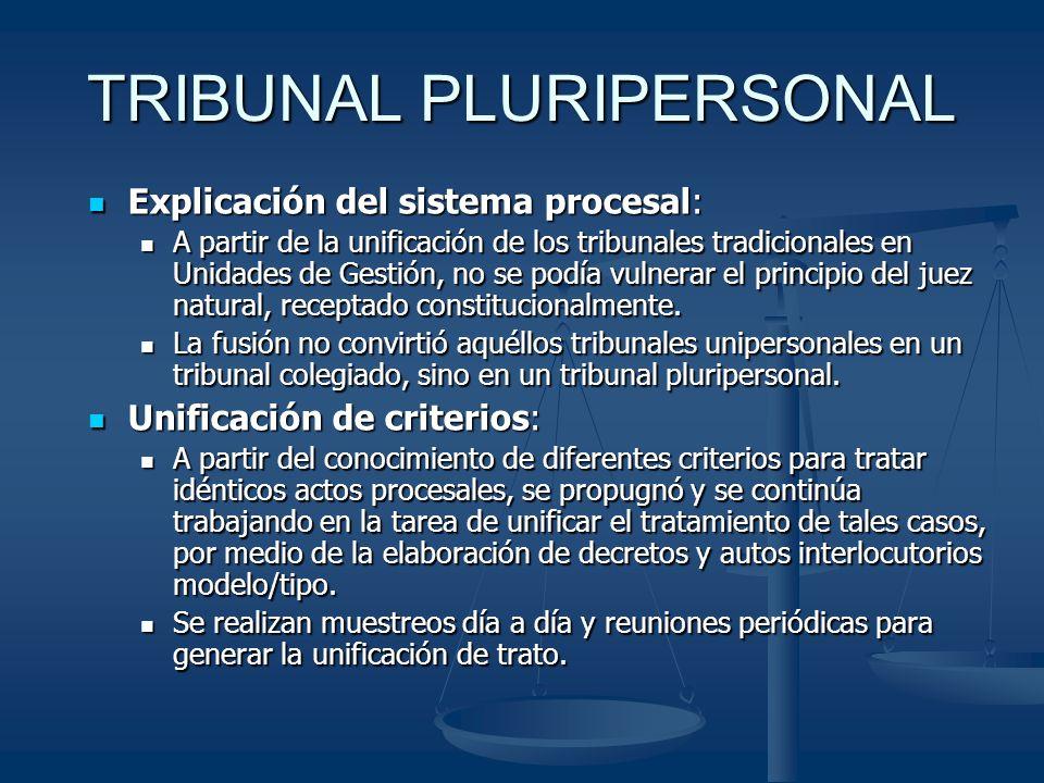 TRIBUNAL PLURIPERSONAL