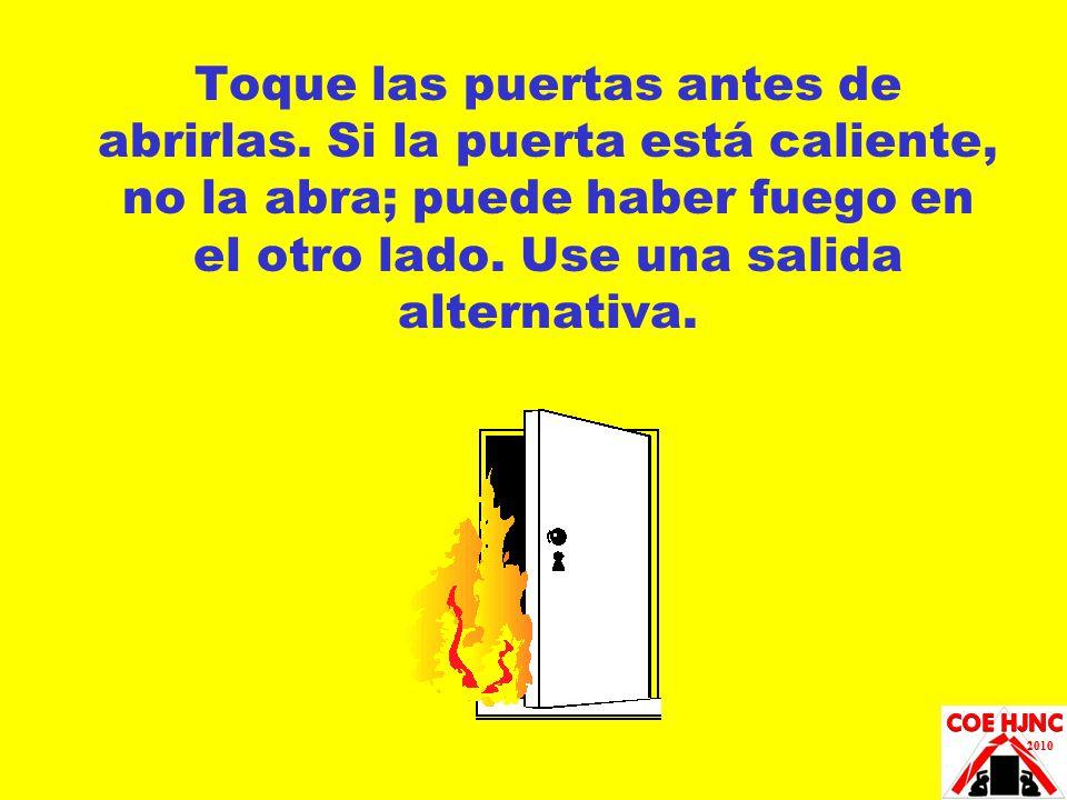 Toque las puertas antes de abrirlas
