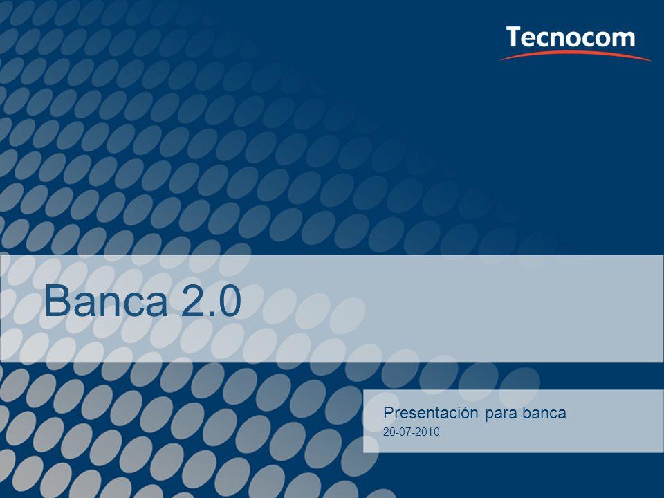 Banca 2.0 Presentación para banca Presentación v Caixa Girona