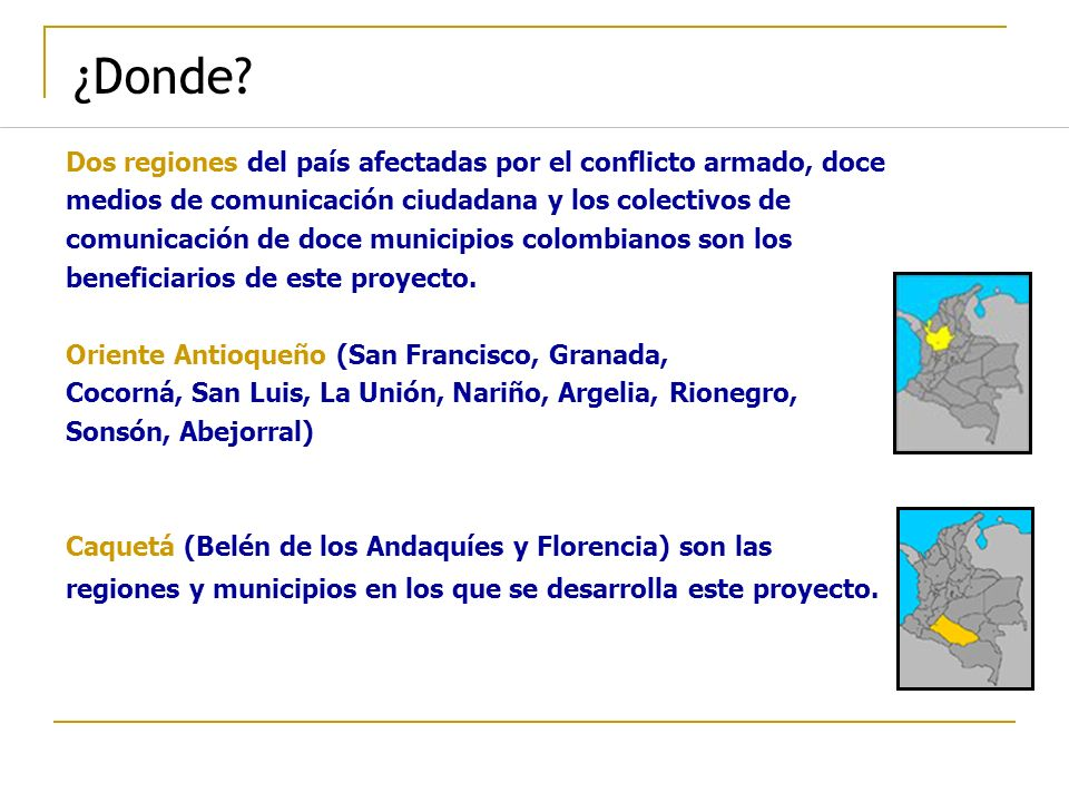 ¿Donde