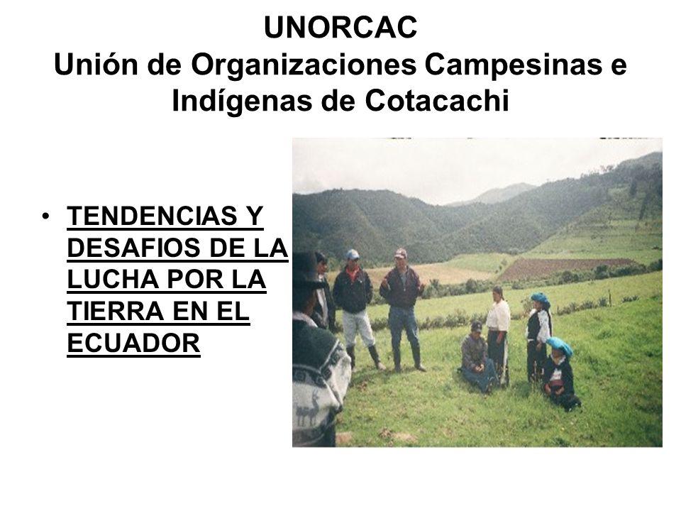 UNORCAC Unión de Organizaciones Campesinas e Indígenas de Cotacachi