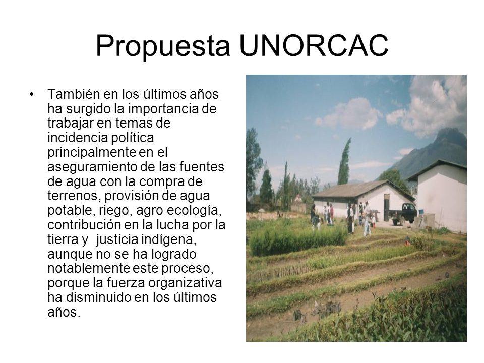 Propuesta UNORCAC