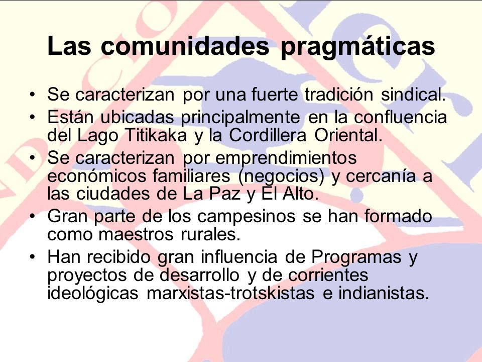 Las comunidades pragmáticas